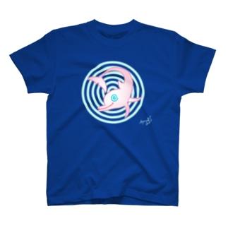 ぐるぐるイルカ〜♪ T-shirts