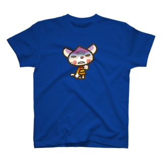 """マロンヘッドのネコ""""どん引きニャ"""" T-shirts"""