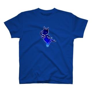 ゆるオグサン いいトモ〜!(藍色) T-shirts