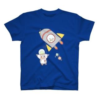宇宙へ! T-shirts