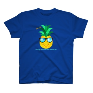 サングラス×パイナップル T-Shirt