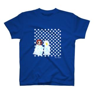 みはやさんのみずきとあひるちゃん T-shirts
