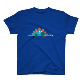 恐竜(ステゴサウルス) T-shirts