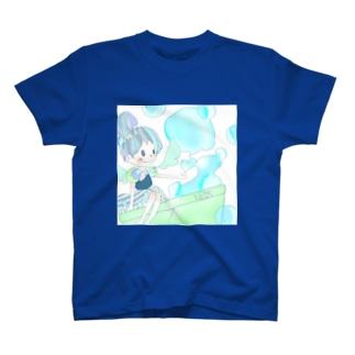 シャボン玉おんなのこ T-shirts