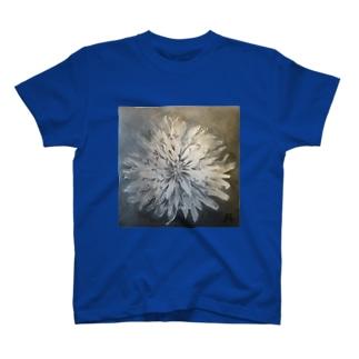 凡子モノ   白いタンポポ T-shirts