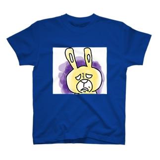 edysdays〜ウサギのエディ〜の不機嫌なエディ T-shirts