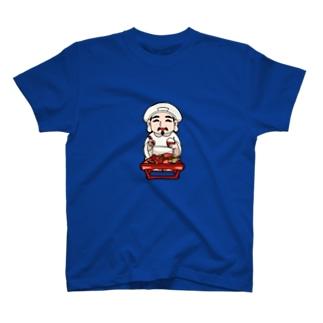 お接待を受けている大黒さん(世界一美味いご飯) T-shirts