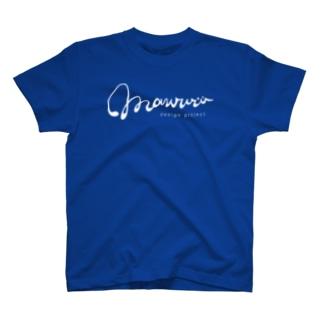 mawwwww.com ロゴホワイト T-shirts