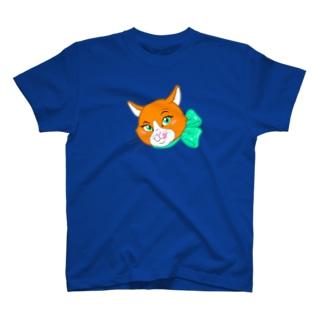 オレンジキャットの「シャネル」 T-shirts