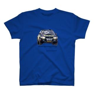 1995年スバルインプレッサ555 GroupA T-shirts