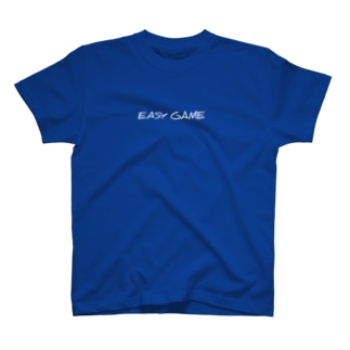 yanchasticのEASY GAME 【simple】 T-shirts