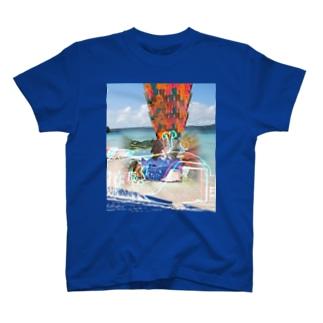ホエールドドドカーンプレミアム(セロファン) T-shirts