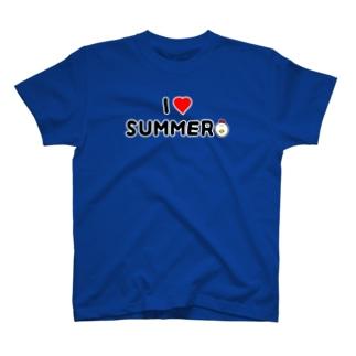 I♡SUMMER(シンプル) T-shirts