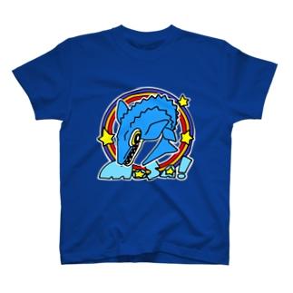 えいくらのPOP!モササウルス T-shirts