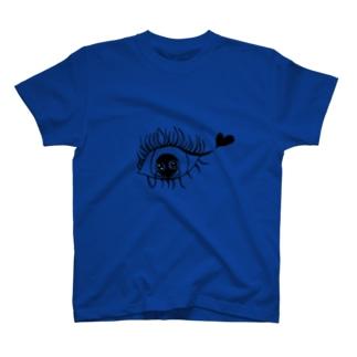 片思いする女の子 T-shirts
