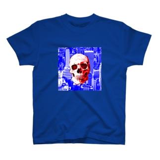 ドクロ+シティ2 T-shirts