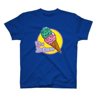 13日はアイスの日!!!! T-shirts