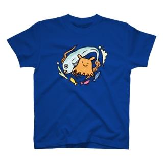 メンダコ&リュウグウノツカイ T-shirts