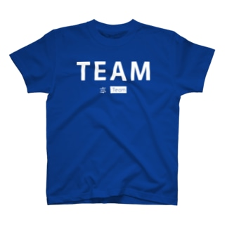 TEAM with :Team (白) T-shirts