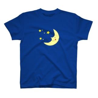月と星-Moon Shine- T-shirts