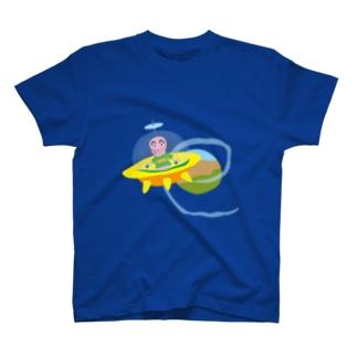 ハロー宇宙人 T-shirts