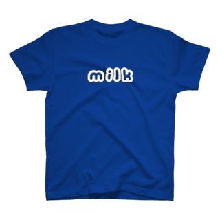 milk T-shirts
