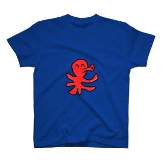 海のやつ タコ T-shirts