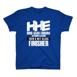 2020 G-net FINISHER 白文字 T-shirts