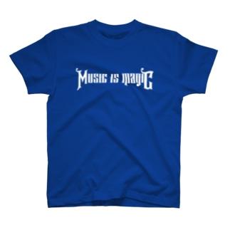 ミュージック・イズ・マジック T-shirts