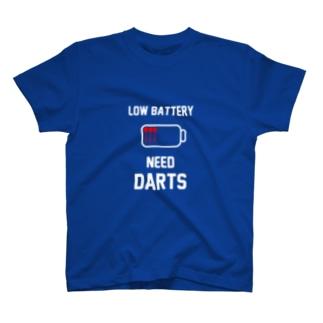 LOW BATTERY NEED DARTS T-Shirt T-Shirt