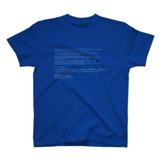 ブルースクリーン T-shirts