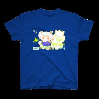 セタわんこ(第2期わんこ期)の人姿に変身だわん♪ T-shirts