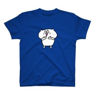 ウケケケと笑う猫 T-shirts
