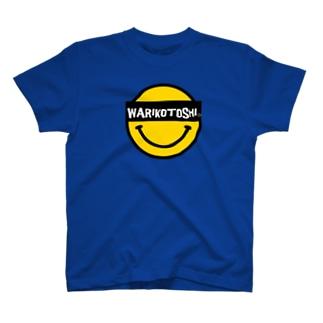 WARIKOTOSHIスマイル T-shirts