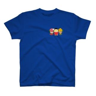ばららちゃんおじゃもんくんばらおくんCK T-shirts