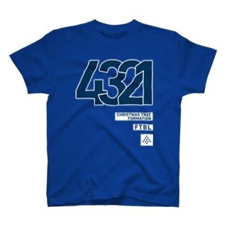 4321のシステム T-shirts