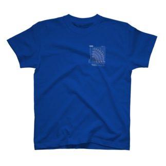 クレーン作業グラフ T-shirts
