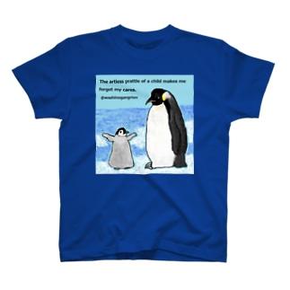 ペンギンの子ども感動報告会 T-shirts