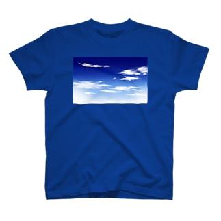 青空(手描き) T-shirts