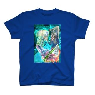 パワーストーン『パイライトインクォーツ』 T-shirts