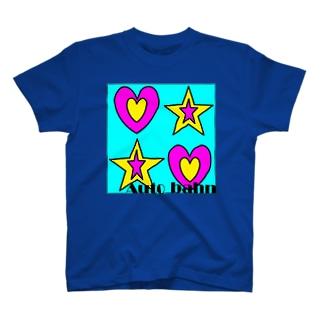 星とハート T-shirts