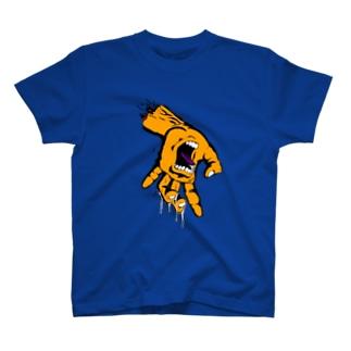 例のデザインのパロディ T-shirts