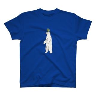 スイカonシロクマ Tシャツ