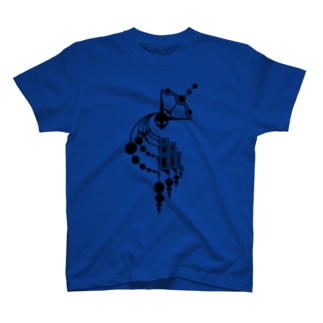 ミステリーサークル09(ブラックver) T-shirts