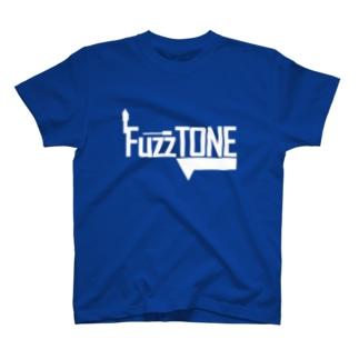 FuzzTONE -white- T-shirts