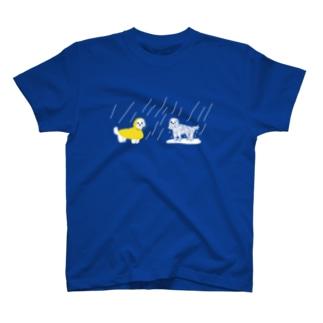濡れ犬 T-shirts