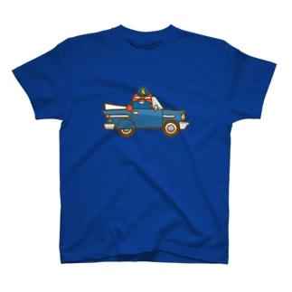 ブレンドくんのアメ車 T-shirts