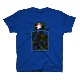 くらやみスマホ依存 T-shirts