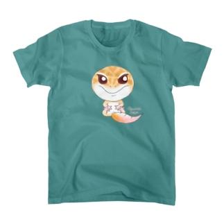 おすわりレオパ(ラプター系) T-Shirt