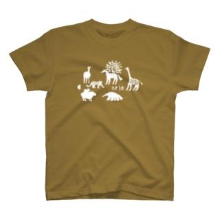 動物大集合 T-shirts